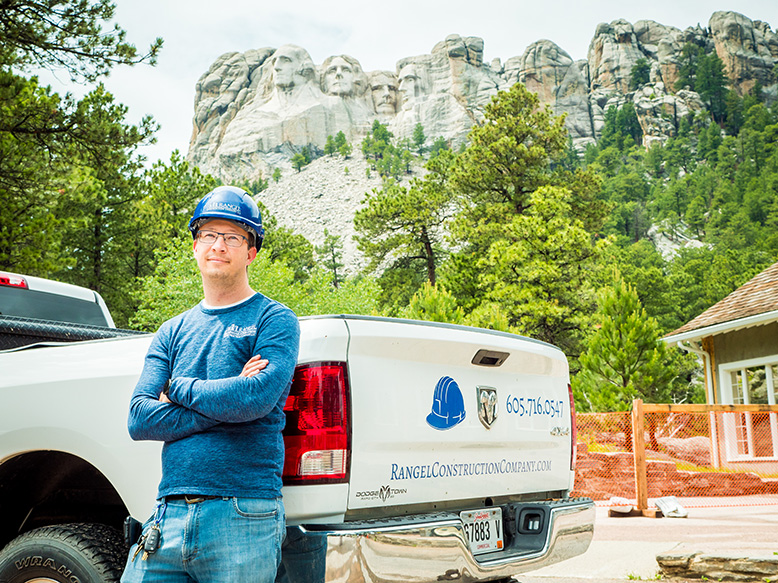 Work Continues at Mt. Rushmore Historic Studio