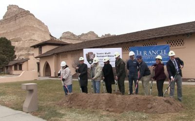 Ceremonial Groundbreaking At Scotts Bluff National Monument Visitor Center!